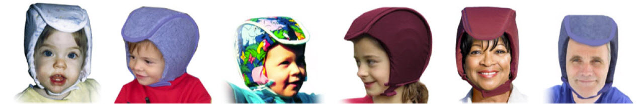 Plum's® ProtectaCap® Custom-Fitting Protective Helmets Come in 6 Sizes for Kids & Adults & Lots of Colors